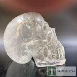 clear quartz crystal skull by Walmere