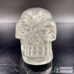 clear quartz traveler skull