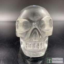 Lemurian quartz crystal skull