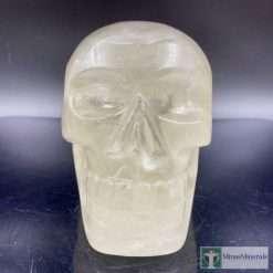 Citrine crystal skull