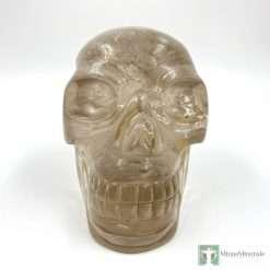 smoky quartz skull by Walmere